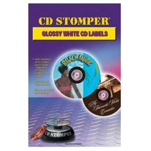 For use with CD Stomper or Audiolabel System